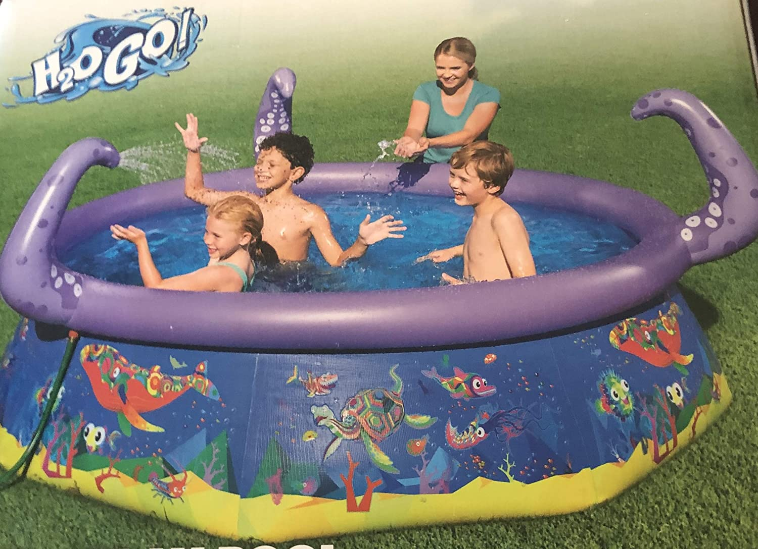 pool h2go inflatable play