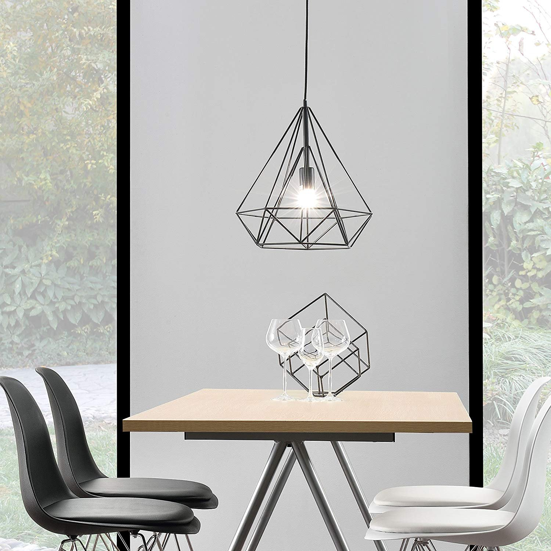 Retro Hängende Licht Messing Metall Designcopper Lampe Korb Käfig