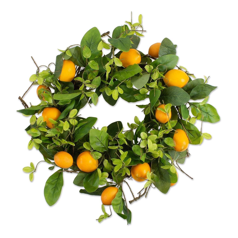 DII Decorative Sunflower 22 Summer Wreath for Front Door or Indoor Wall D/écor to Celebrate Spring /& Summer Season CAMZ37427