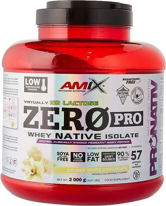 AMIX Zeropro Protein 2 Kg Doble-Chocolate Blanco 2000 g