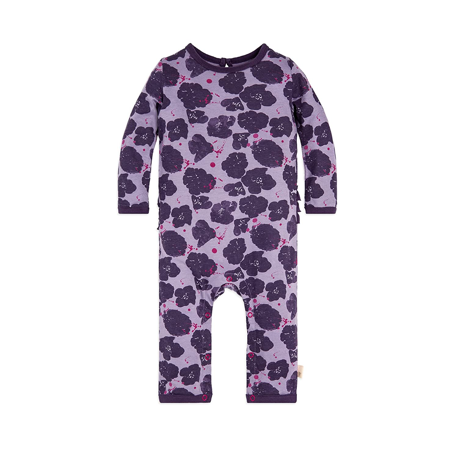 1b307bec4385 Burt s Bees Baby - Girls Long Sleeve Romper Jumpsuit One piece outfits make  changes hassle-free