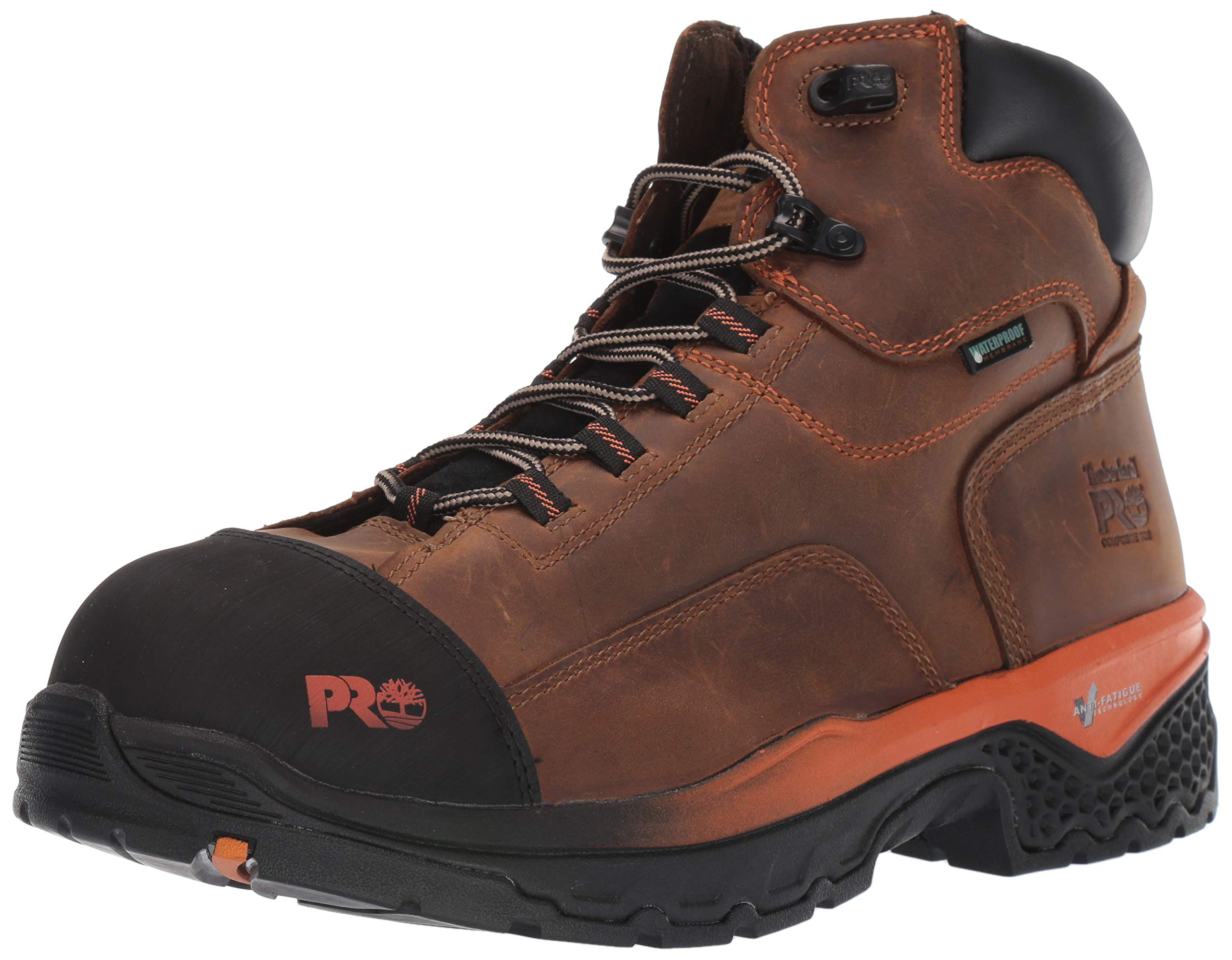 Timberland PRO Men's Bosshog 6'' Composite Toe Waterproof Industrial Boot, Brown, 11.5 W US by Timberland PRO