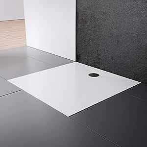 Schulte EP214028 04 - Plato de ducha (120 x 120 cm), color blanco: Amazon.es: Bricolaje y herramientas