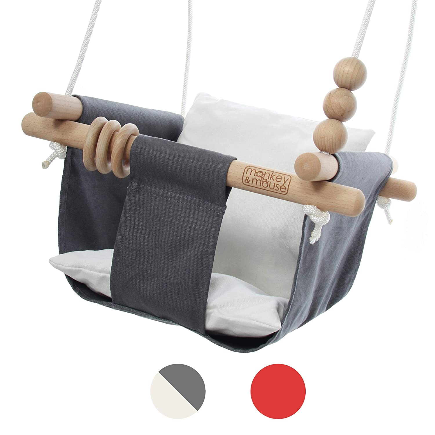 Monkey And Mouse Secure Canvas Seat Chair