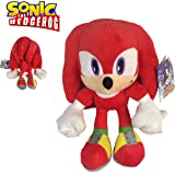 "Sonic - Peluche Knuckles The Echidna 11'40""/29cm Color Rojo Calidad Super Soft"