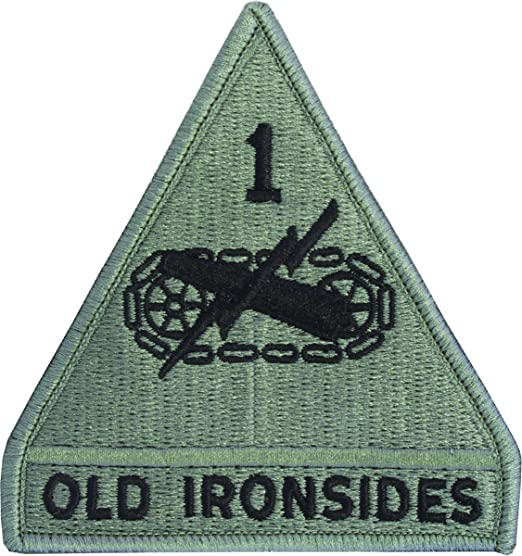 Amazon.com  1st Armored Division Patch (ACU with Fastener)  Clothing 1ce8ce521c7