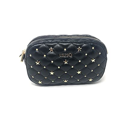 Liu Jo Tiberina Fanny Pack Black  Amazon.co.uk  Luggage 277fba030a3