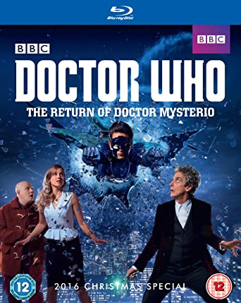 Doctor Who Christmas Special 2016.Doctor Who The Return Of Doctor Mysterio Bd Blu Ray 2016