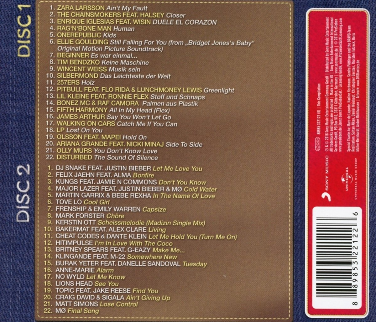 various artists bravo hits 95 amazon com music