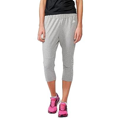 adidas pantalon 3/4de la marque