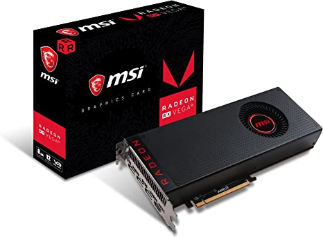 Amazon Com Msi Gaming Radeon Rx Vega 56 2048 Bit 8gb Hbm2 Directx 12 Vr Ready Cfx Graphics Card Rx Vega 56 8g Computers Accessories