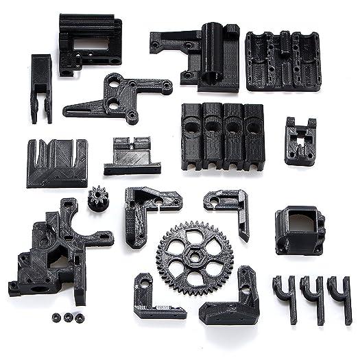 Alamor DIY ABS Material negro 3d impreso partes kit para RepRap ...