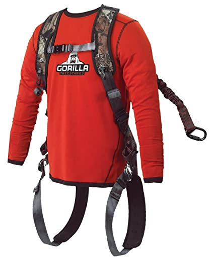 Amazon.com : Gorilla Gear G30 Safety Harness : Hunting Safety Belts