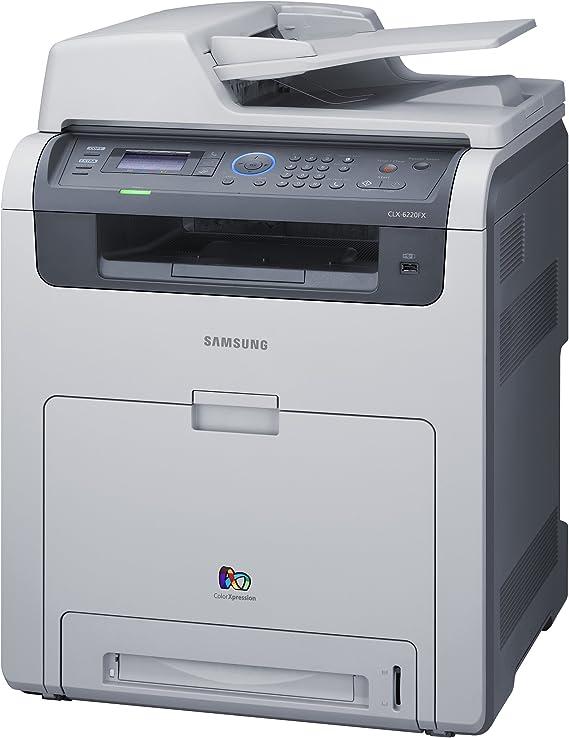 Samsung CLX-6220FX - Impresora multifunción láser Color (20 ppm ...