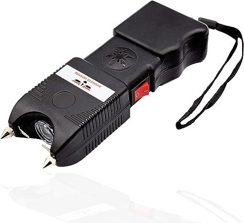 Night Watchman 5 Million-Volt Stun Gun LED Flashlight