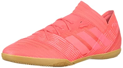44c99f2d9 adidas Men's Nemeziz Tango 17.3 in Soccer Shoe, red Zest/Real Coral, 9