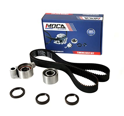 Amazon com: MOCA TCK257A Timing Belt Kit with Tensioner for