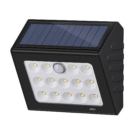 Foco con sensor de movimiento, inalámbrico, de alto brillo, 14 LED, resistente