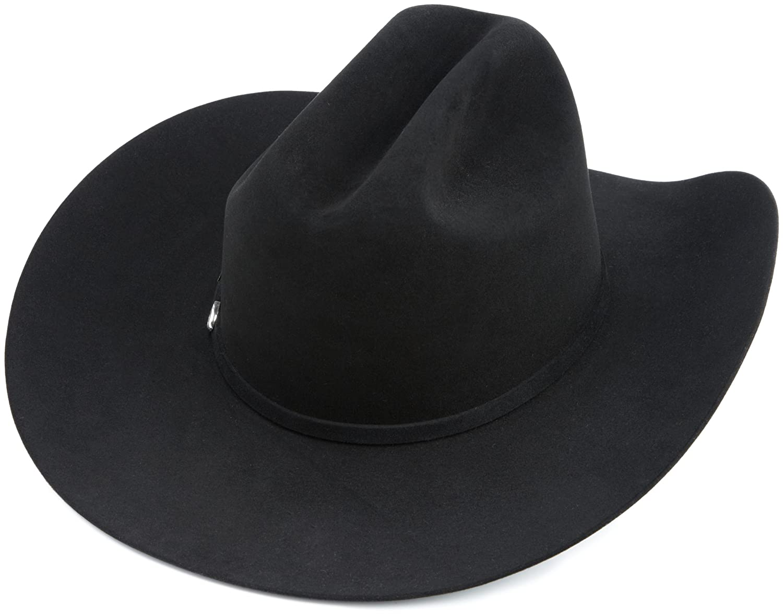 Resistol Men s Black Gold Hat at Amazon Men s Clothing store  Cowboy Hats 403dd12a01dd