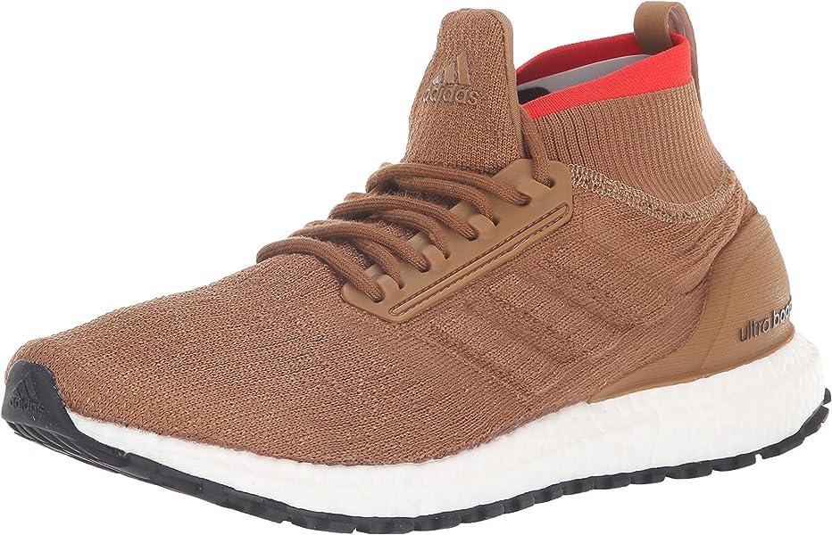 Men's Ultraboost All Terrain Running Shoe raw DesertBlackWhite 18 M US