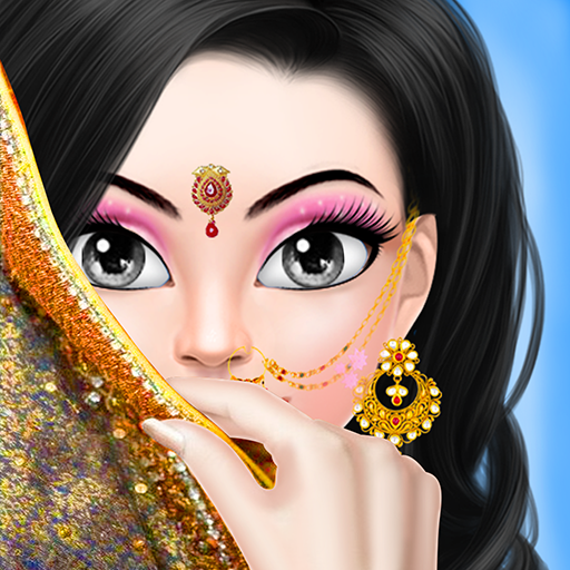 Amazon Com Indian Wedding Girls Corner Indian Celebrity Wedding Salon Stylist Salon Game Wedding Makeup Salon Bridal