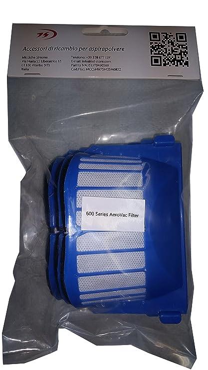 Batería + Kit Cepillos y Filtros Aerovac para iRobot Roomba serie 600 601 602 603 604 605 606 607 608 609 610 611 612 613 614 615 616 617 618 619 620 621 ...