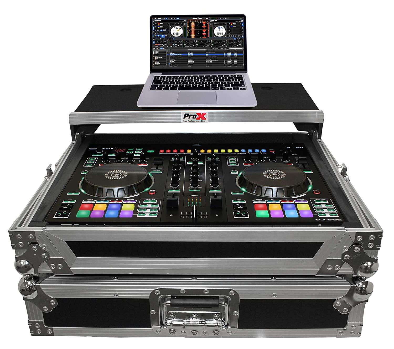 ProX XS-DJ505LT Flight Case For Roland DJ505 Controller w/Sliding Laptop Shelf PRO X CASES