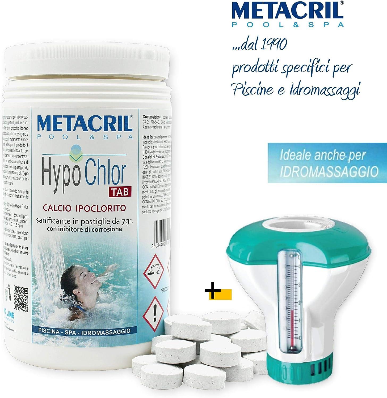 Metacril Fútbol Hipoclorito 65% en Pastillas de 7 g. - HypoChlor ...