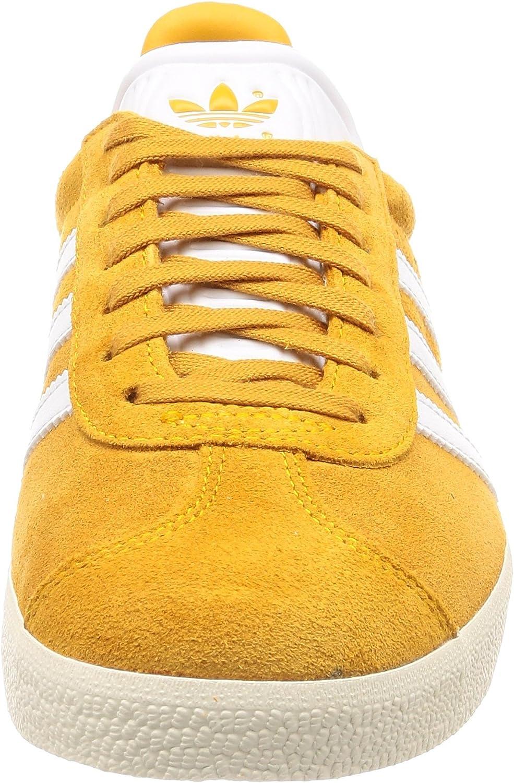 adidas Men's Gazelle Fitness Shoes Oro Doruni Ftwbla Blacre 000