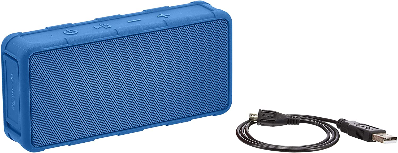 Amazon Basics Portable Outdoor IPX5 Waterproof Bluetooth Speaker - Blue, 5W