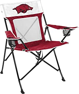amazon com nfl portable folding tailgate chair with cup holder and rh amazon com