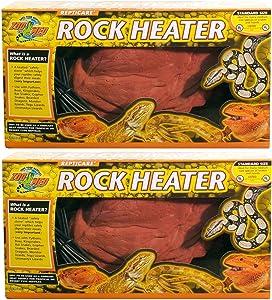 Zoo Med 2 Pack of ReptiCare Rock Heaters, Mini, 5 Watt
