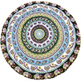 Honeystore Print Bohemian Cover Up Round Beach Towel Mats Sarong Indian Tapestry