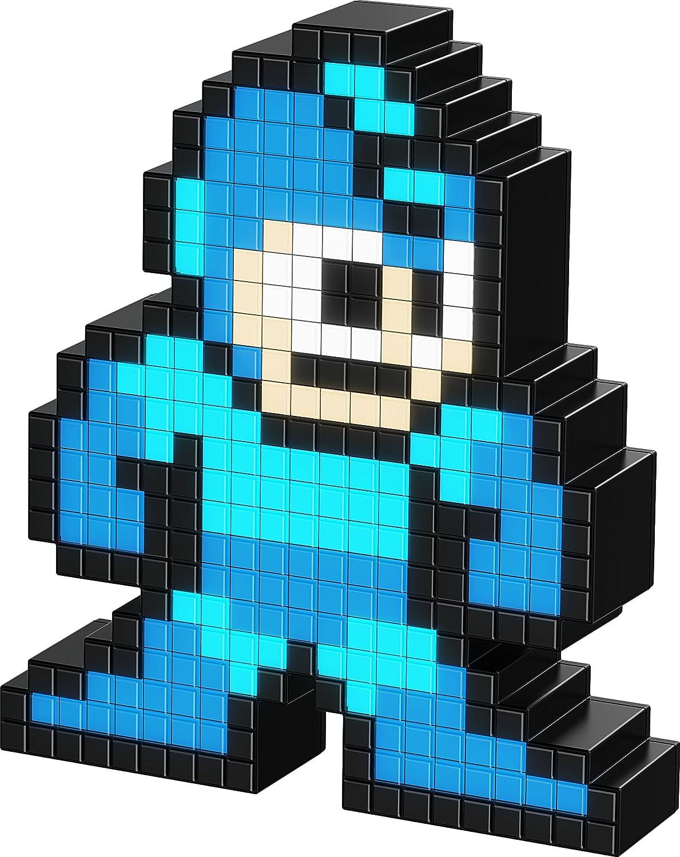 PDP Pixel Pals Capcom Mega Man Collectible Lighted Figure, 878-025-NA-MEG-NB