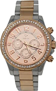 PRINCELY Casual Watch For Women - Stainless Steel -P575LBSR-WH