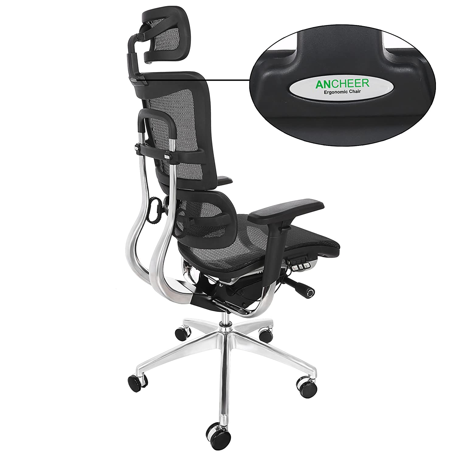 Ancheer Ergonomic Executive Mesh fice Chairs with Adjustable
