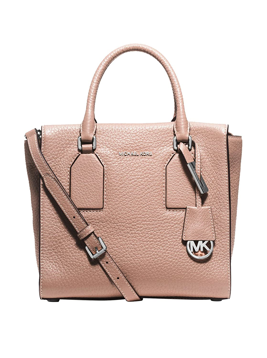 857f628ff364 Michael Michael Kors Women's Selby Medium Leather Satchel, Ballet:  Handbags: Amazon.com