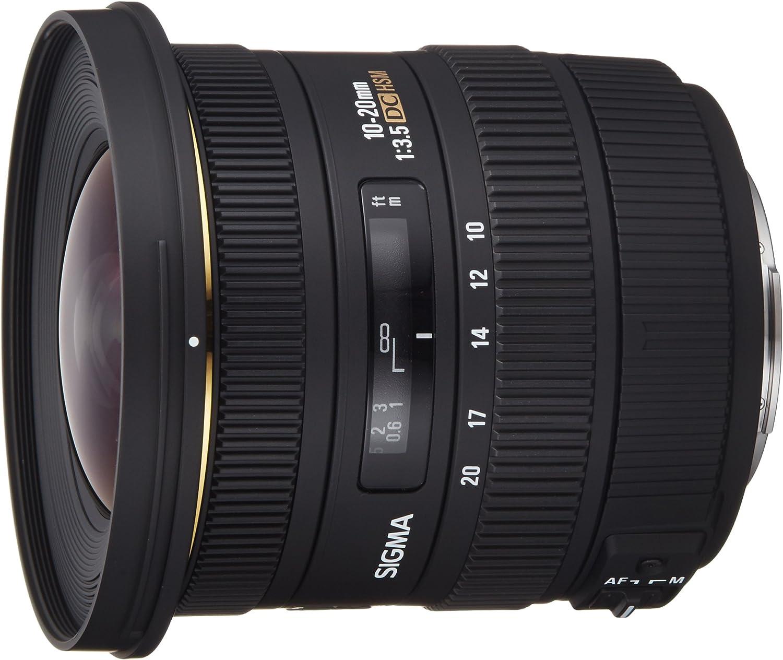 Sigma 10-20mm f/3.5 EX DC HSM - Objetivo para Canon (10-20mm, f ...