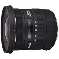 Sigma 10-20mm f3.5 EX DC HSM Lens for Sony Digital SLR Cameras with APS-C Sensors