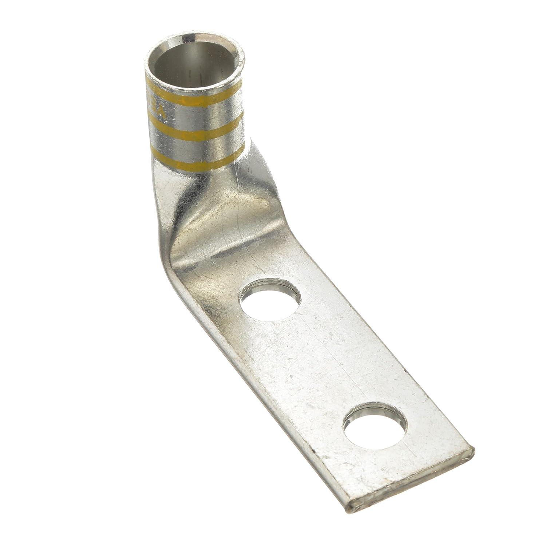 【予約販売品】 パンドウイット 国内正規品 銅製圧縮端子 取付穴16.8mm LCDX750-58GF-3 2穴 フレックス電線対応ラグ 750kcmil 取付穴16.8mm 2穴 取付穴間隔38.1mm バレル角度90° 3個入 LCDX750-58GF-3 B07353SJKR, the Gift by fp:a4a5e5b5 --- a0267596.xsph.ru