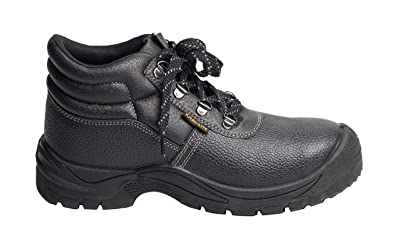 Mens Waterproof Safety Trainers Ultra Lightweight Non Metal Free Composite Toe Cap Midsole Non Metallic Work Shoes Ankle Hiker Anti-Smash Steel Toe Safety Shoes