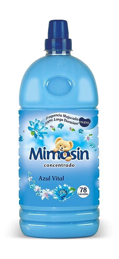 Mimosín Azul Vital Suavizante Concentrado para 78 lavados - 1 Botella