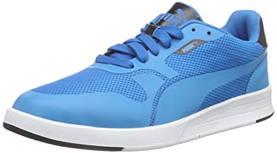 Puma Icra Evo, Unisex-Erwachsene Sneakers, Blau (Atomic Blue-Black 01