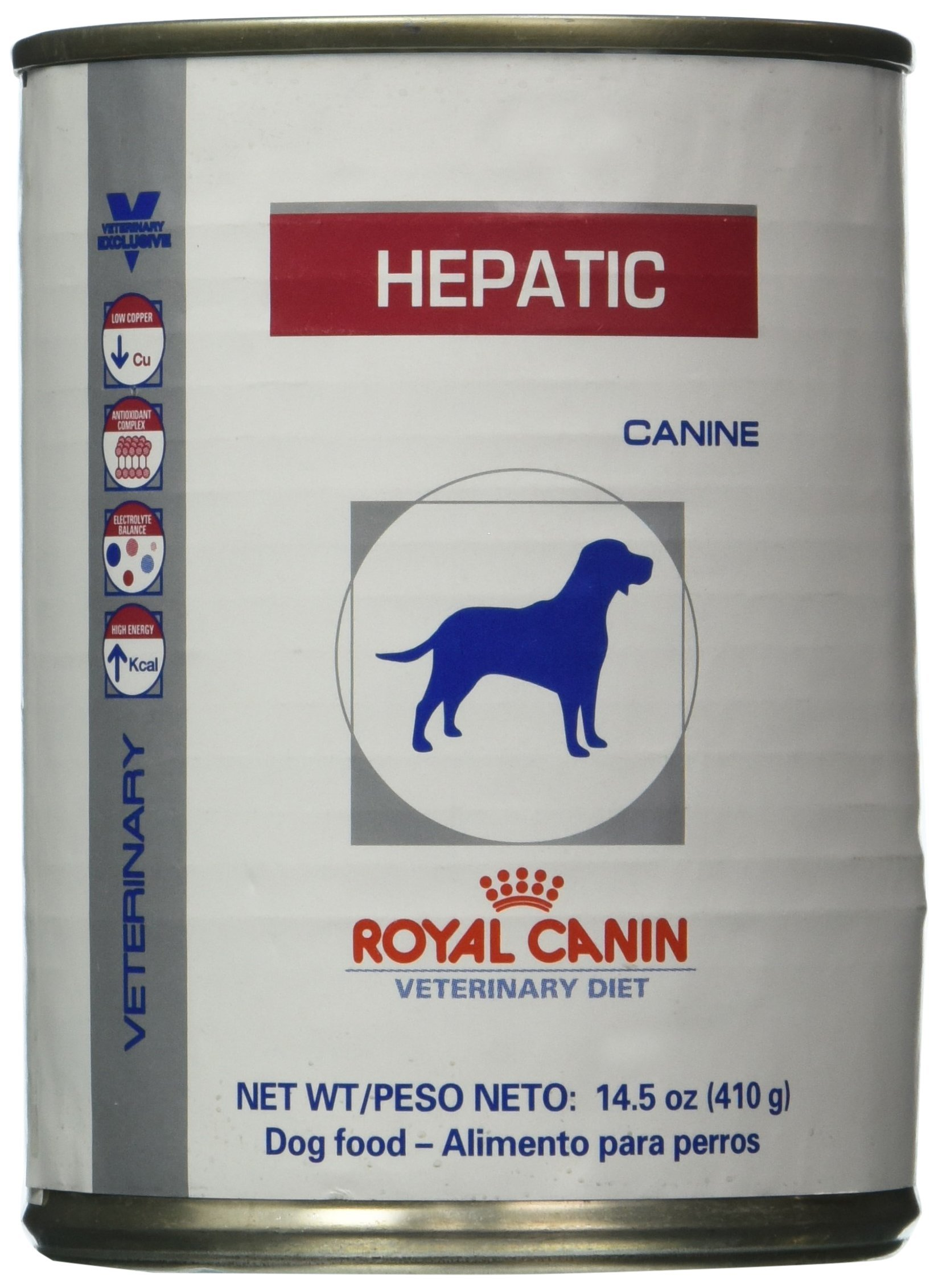 Royal Canin Veterinary Diet Hepatic canned dog food 24 14.4 oz