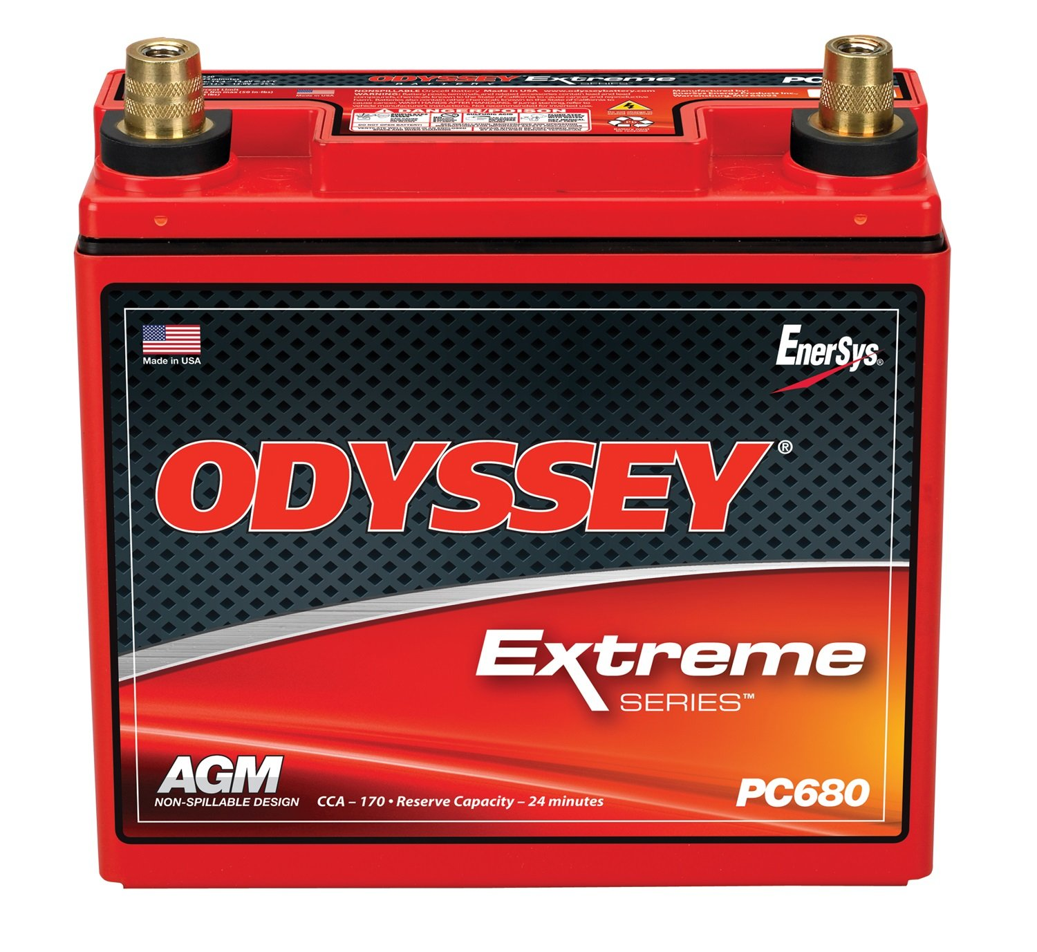 Odyssey PC680MJT Automotive and LTV Battery