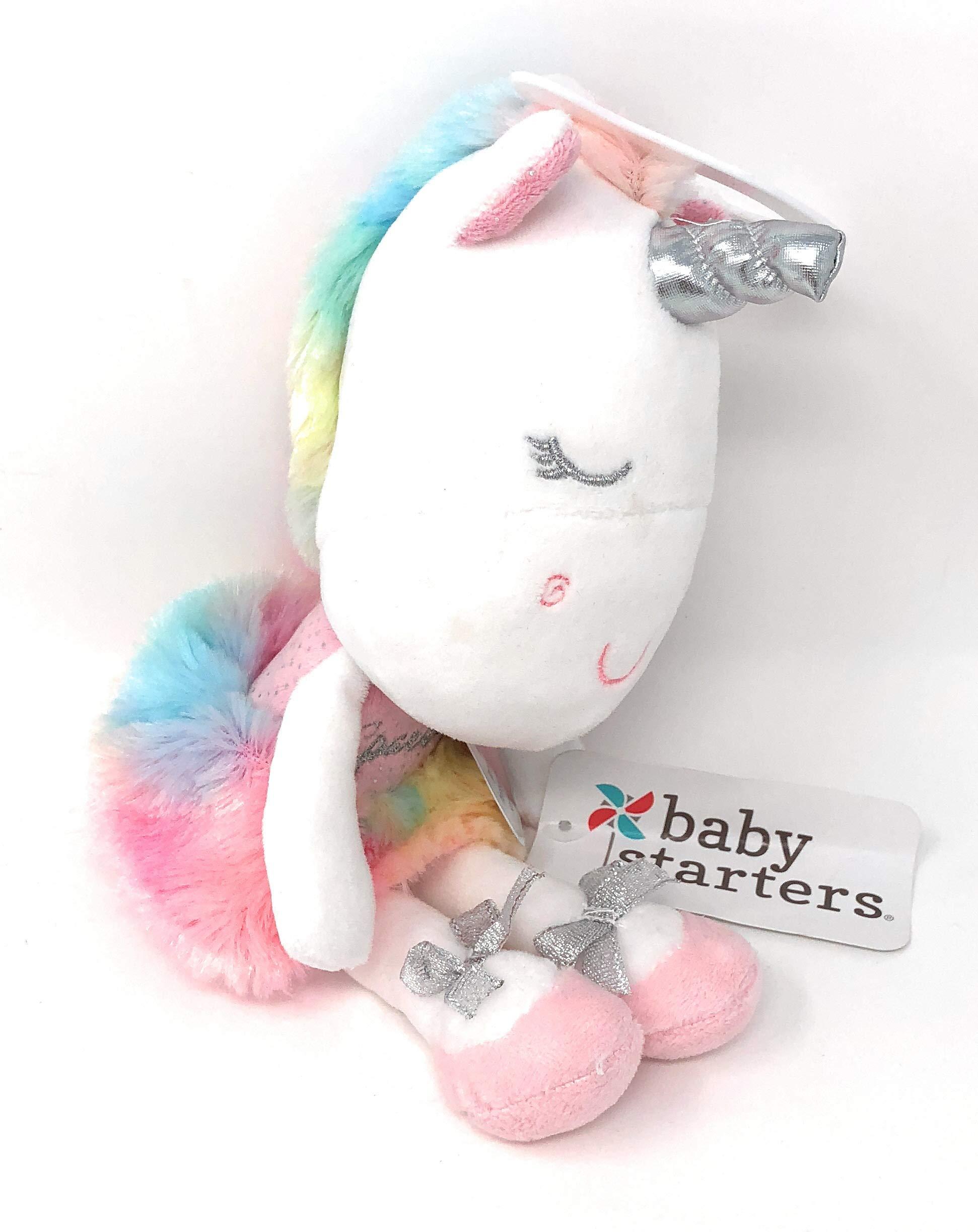 Baby Starters Ballet Tutu Rainbow Plush Unicorn ~ Dancing Ballerina | Press My Tummy to Hear Sparkle Sound | 12 in Tall by Baby Starters (Image #4)