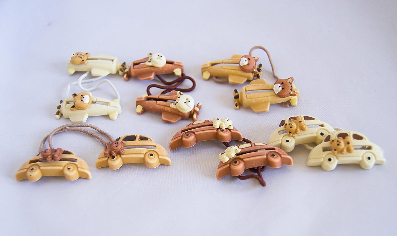 Pack de 6 coleteros de osos con coches y aviones. Envío GRATIS 72h: Amazon.es: Belleza