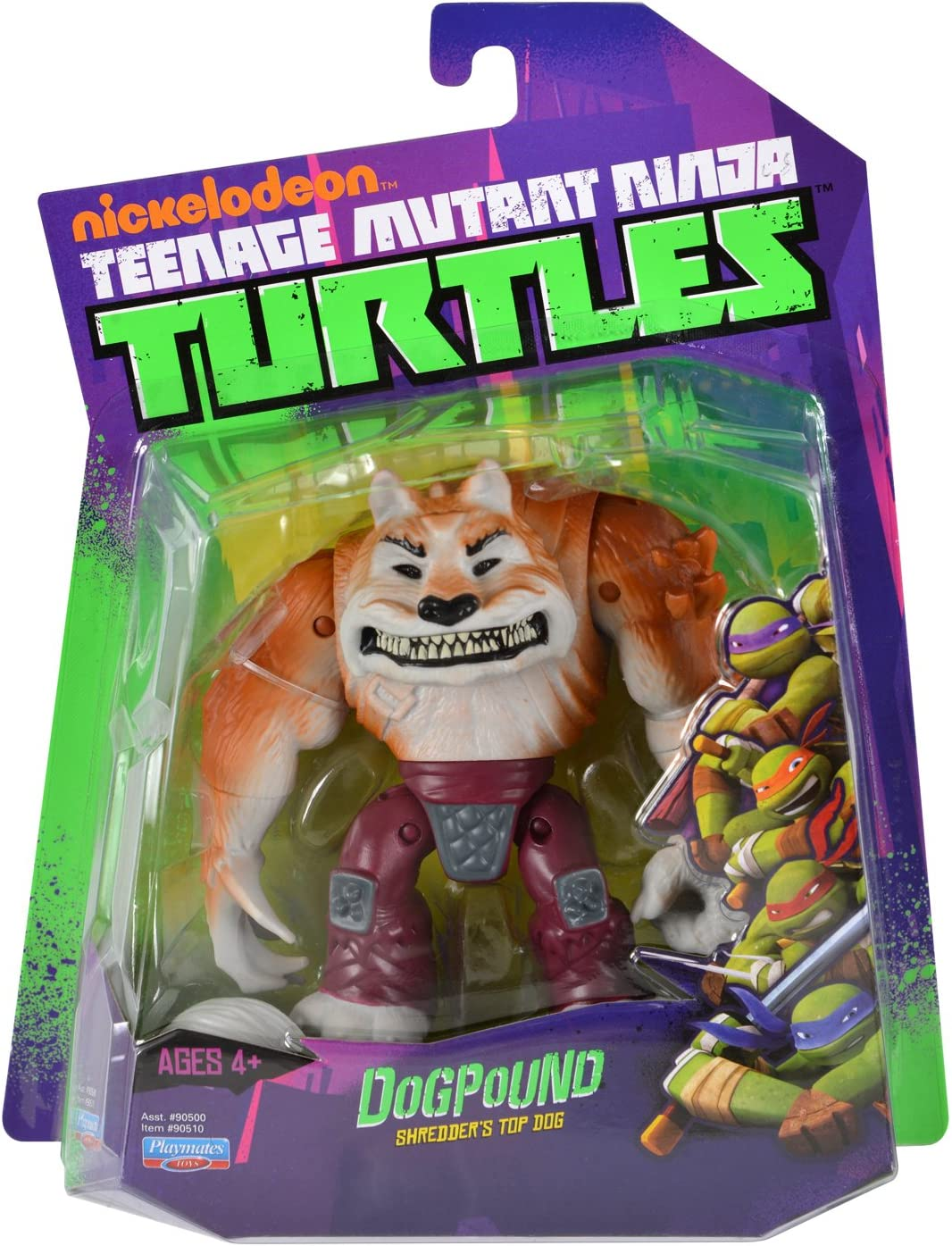 Amazon Com Nickelodeon Teenage Mutant Ninja Turtles Dogpound