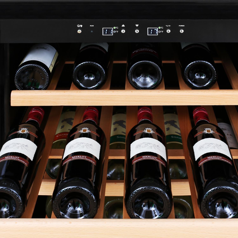 Klarstein Reserva 120 Luxus Weinkühlschrank Getränkekühlschrank