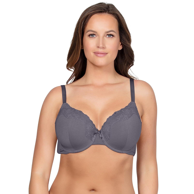 premium selection beautiful style discover latest trends Parfait Women's T-Shirt Bra 36DDD Charcoal, Tess P50212 ...